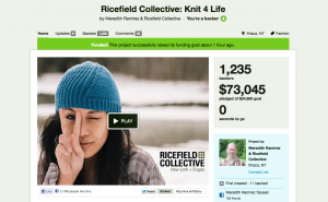 ricefield collective knit 4 life